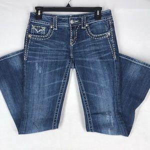Miss Me boot cut jeans size 26 EUC